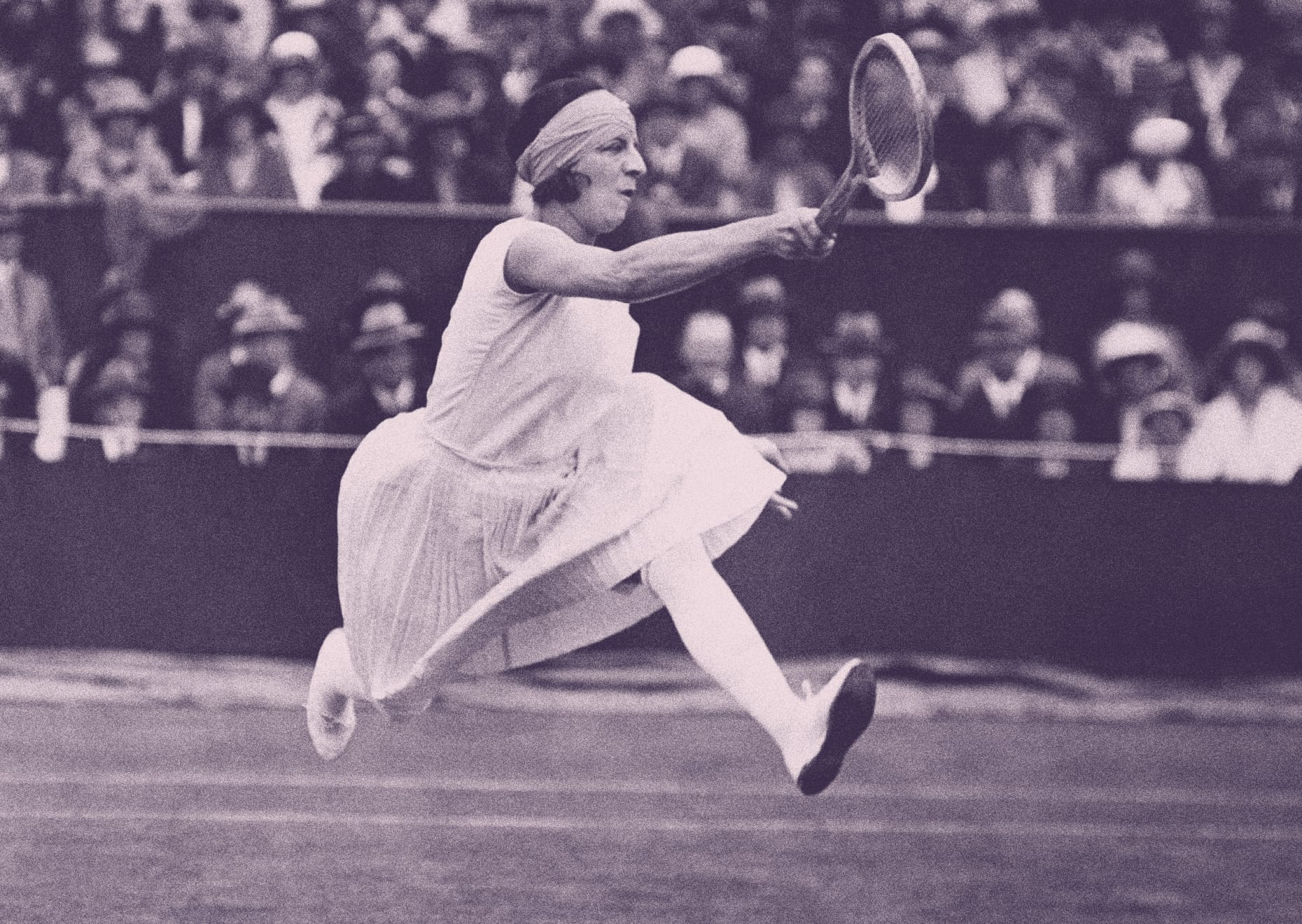 Suzanne Lenglen la primera tenista de la historia
