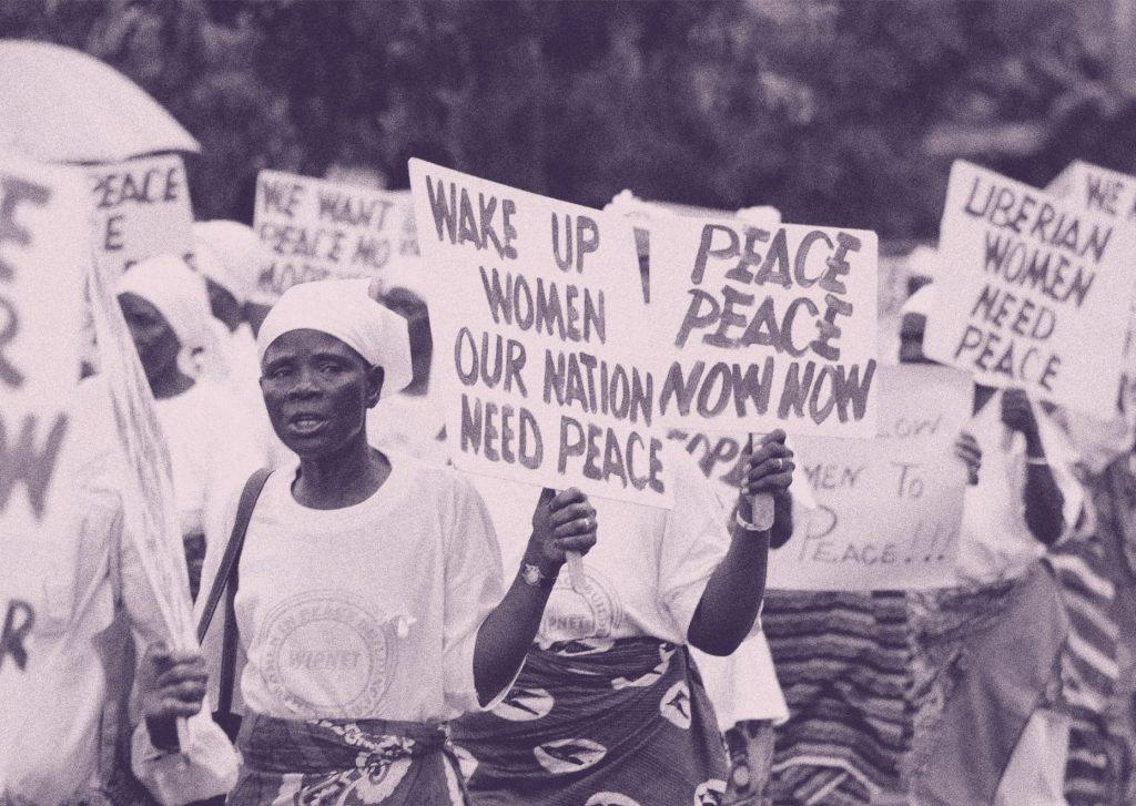 Las mujeres liberianas que movilizó Leymah Gbowee