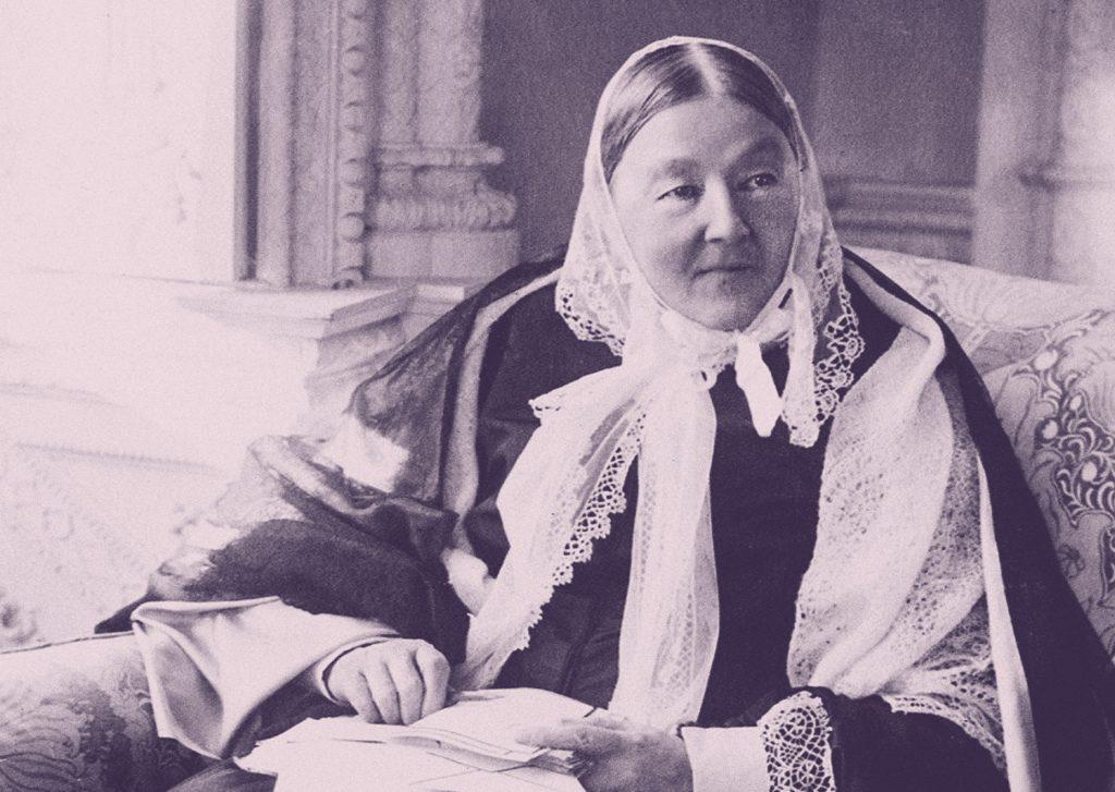 Retrato de Florence Nightingale, sentada, en la vejez. (c) Wellcome Collection gallery