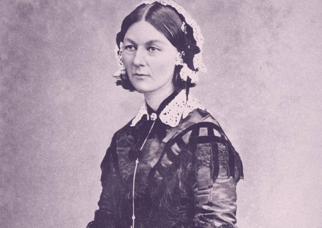 Florence Nightingale en 1920.